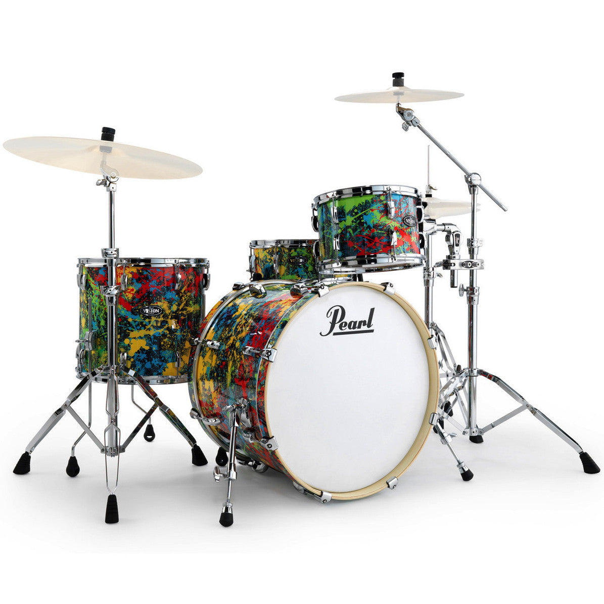 "Pearl Vision NY Splatter LTD Edition with extra 13"" Tom & Hardware"