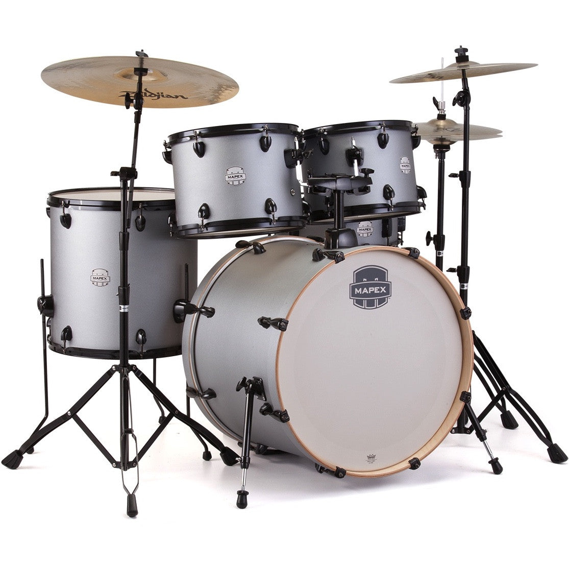 Mapex Storm 5-Piece Standard Drum Set - Iron Grey | Music Experience | Shop Online | South Africa
