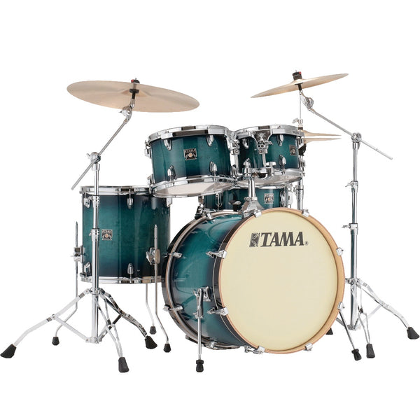 TAMA Superstar Classic 5-piece CL52KRS-BAB Blue Lacquer Burst & SM5W Hardware | Music Experience | Shop Online | South Africa