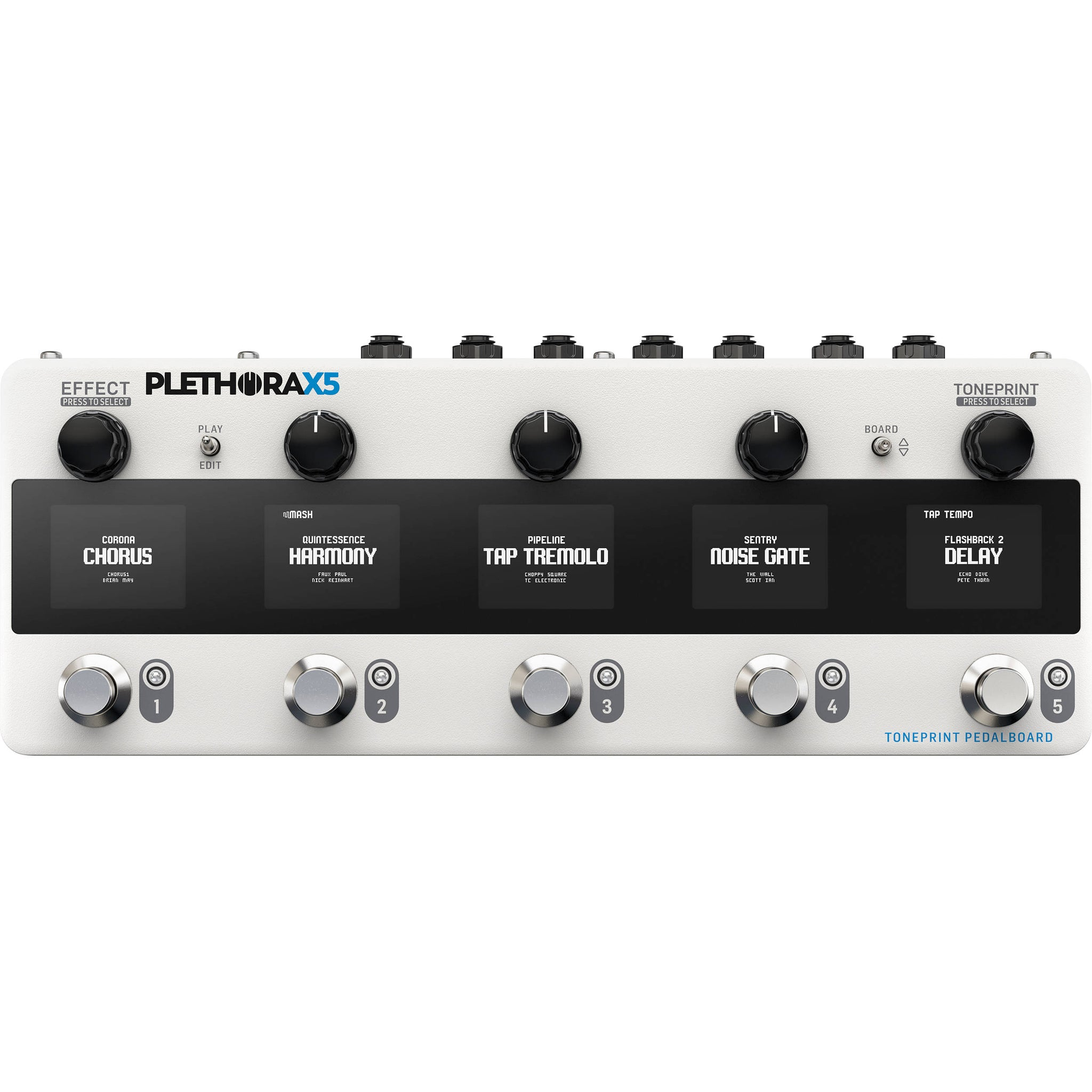 TC Electronic PLETHORA X5 TonePrint Multi-FX Pedalboard | Music Experience | Shop Online | South Africa