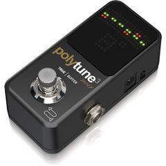 TC Electronic PolyTune 3 Noir Tuner with Built-in Buffer | Music Experience | Shop Online | South Africa