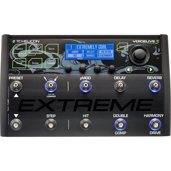 TC Helicon VoiceLive 3 Extreme | Music Experience | Shop Online | South Africa