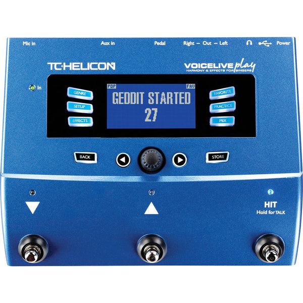 TC Helicon VoiceLive Play | Music Experience | Shop Online | South Africa
