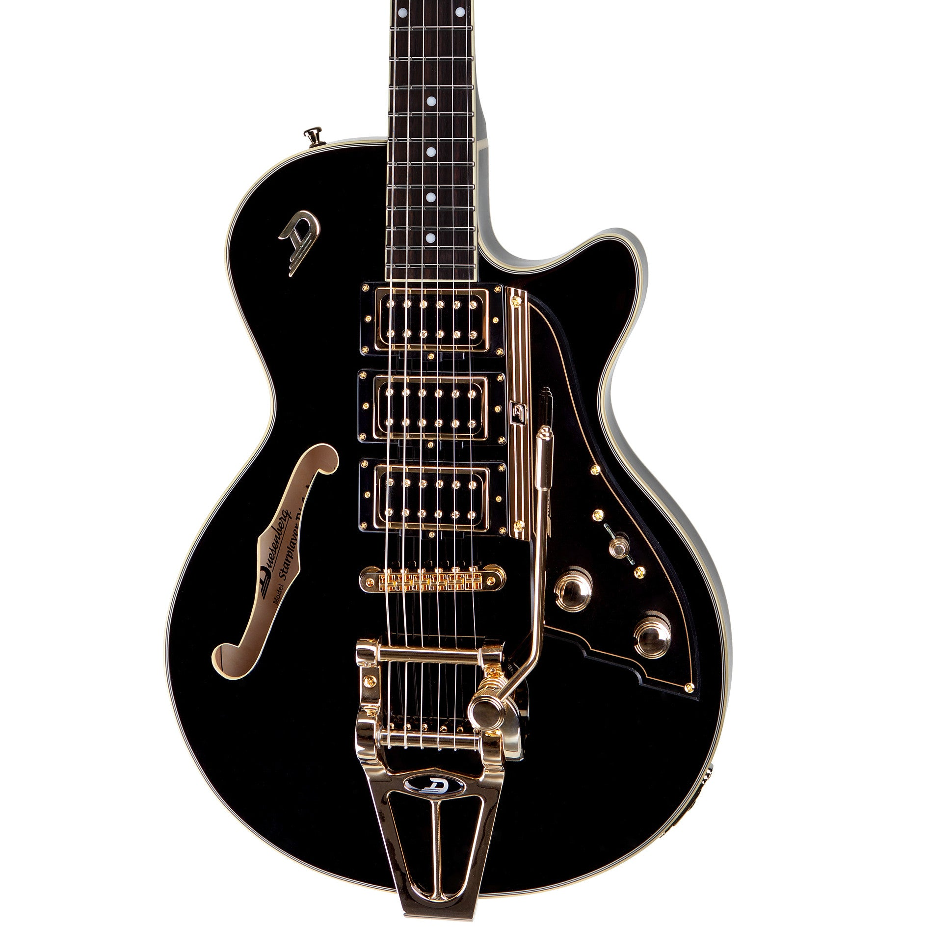 Duesenberg Starplayer TV Custom DTV-CM-BK