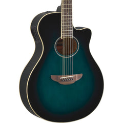 Yamaha APX600 Thinline Oriental Blue Burst | Music Experience | Shop Online | South Africa