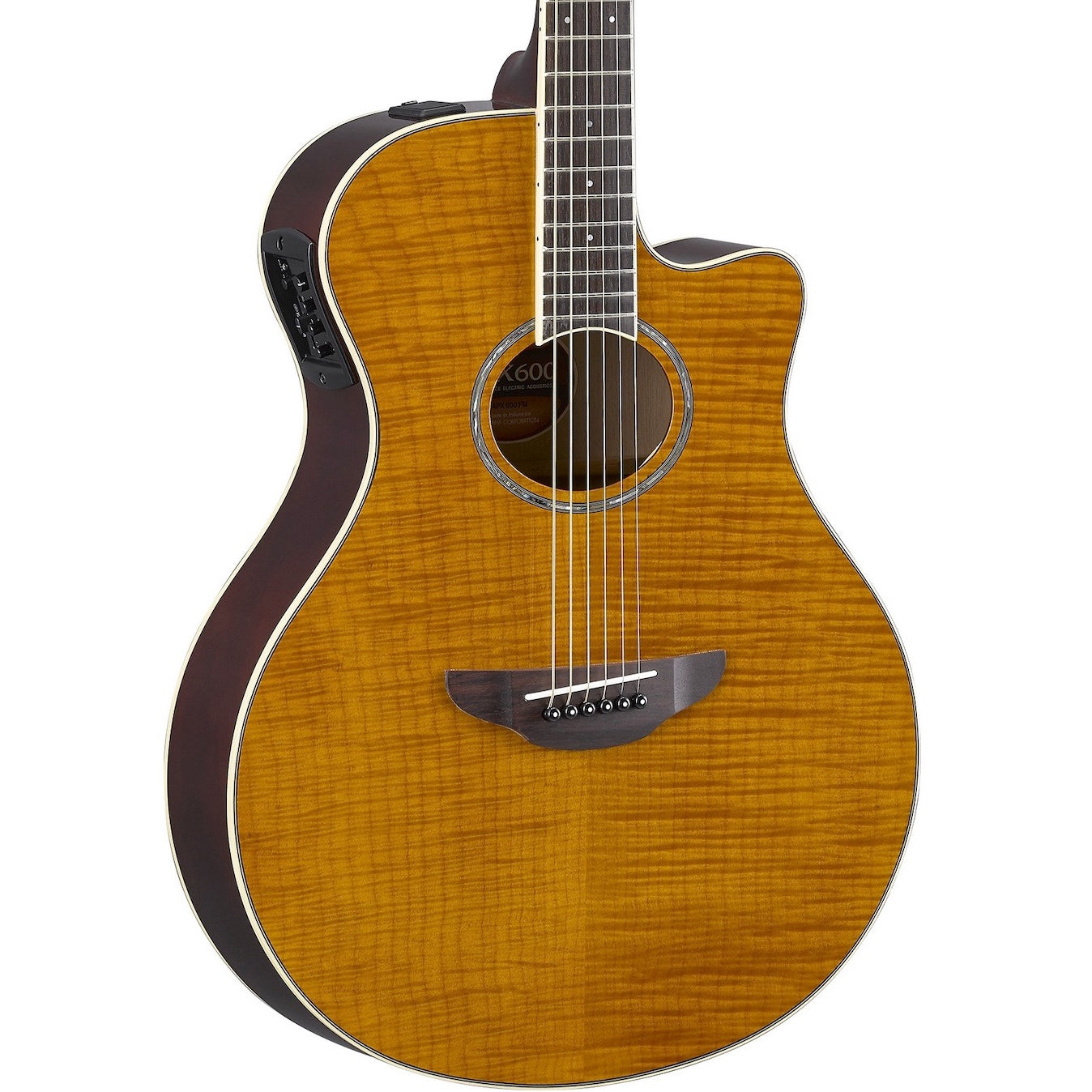 Yamaha APX600FM Thinline Amber | Music Experience | Shop Online | South Africa