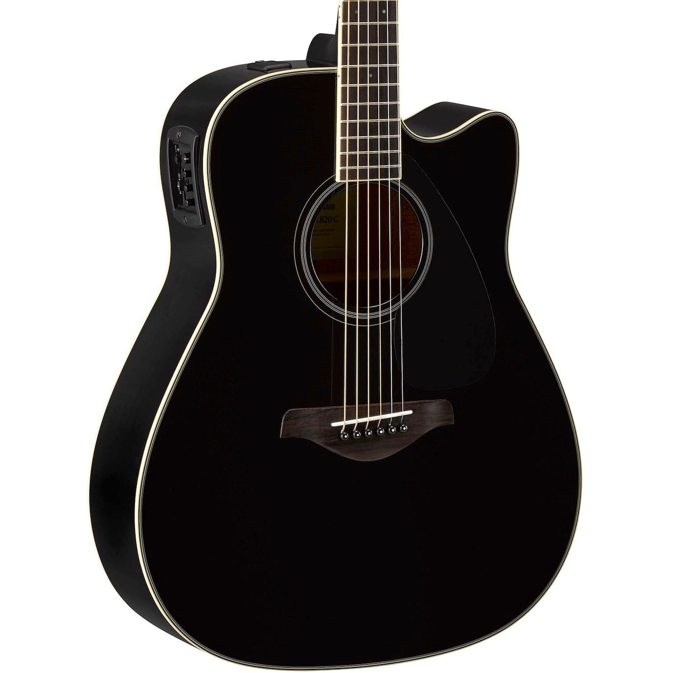Yamaha FGX820C Dreadnought Black | Music Experience | Shop Online | South Africa