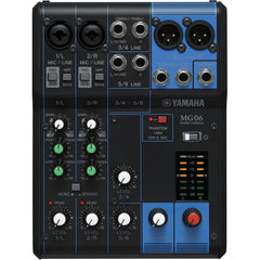 Yamaha MG06 Mixing Console | Music Experience | Shop Online | South Africa