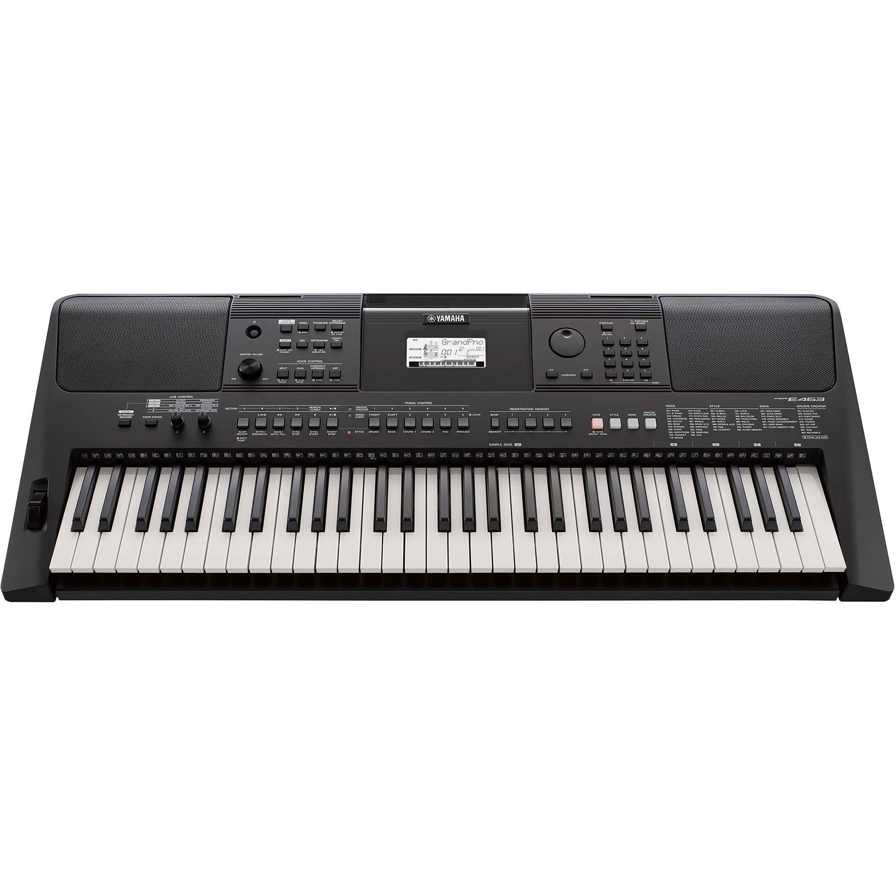 Yamaha PSR-E463 Arranger Keyboard | Music Experience | Shop Online | South Africa