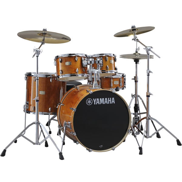 Yamaha Stage Custom Birch 6-Piece Drum Set Honey Amber | Music Experience | Shop Online | South Africa