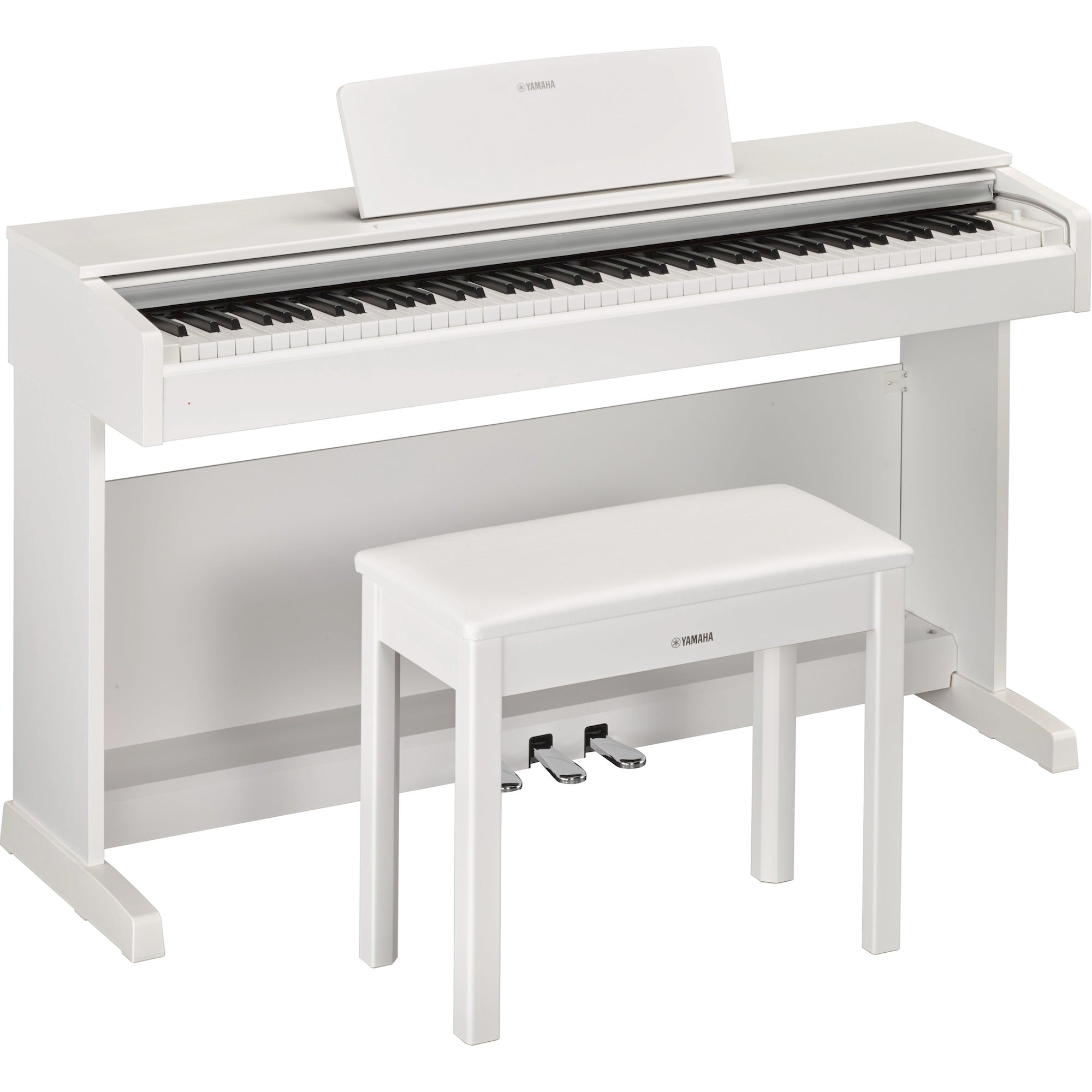 Yamaha Arius YDP-143WH Digital Home Piano Matte White | Music Experience | Shop Online | South Africa