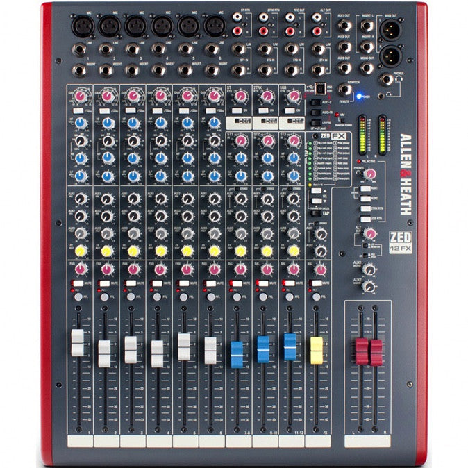 Allen & Heath ZED-12FX Mixer | Music Experience | Shop Online | South Africa