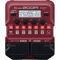 Zoom B1 FOUR Multi-effects Processor | Music Experience | Shop Online | South Africa
