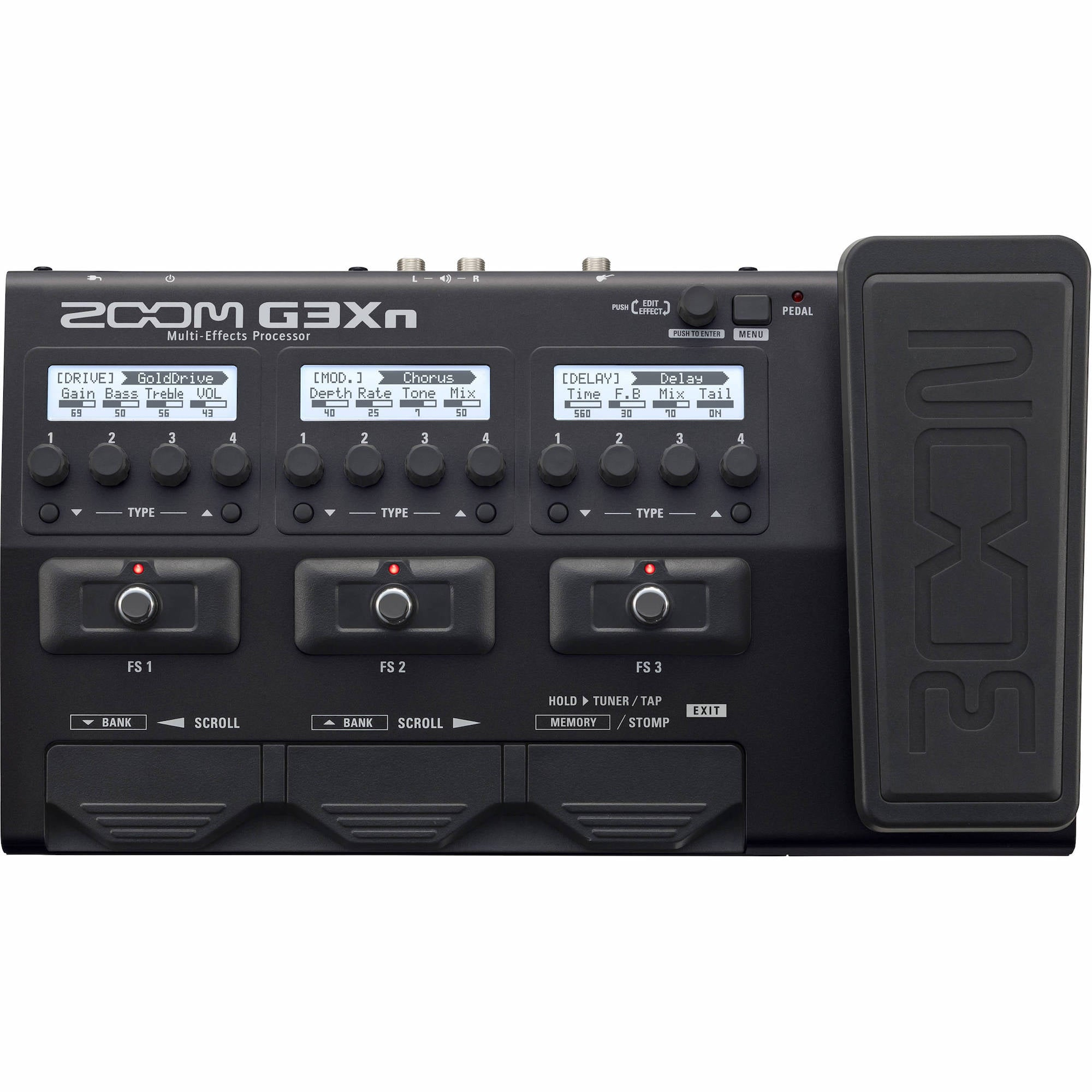 Zoom G3Xn Multi-effects Processor | Music Experience | Shop Online | South Africa