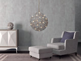 Germanium LED Wallpaper Chandelier