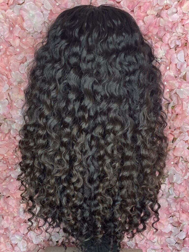 TreBella Cambodian Curly full unit, 18 inch- no closure