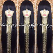 TreBella Wigs Smooth Straight Light Yaki Unit 22in - TreBella Wigs