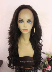 TreBella Wigs Indian wavy 20in unit w/ lace frontal (13x6)