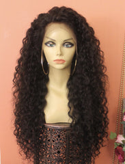 TreBella Wigs Loose Curly unit w/ lace frontal (13x6)