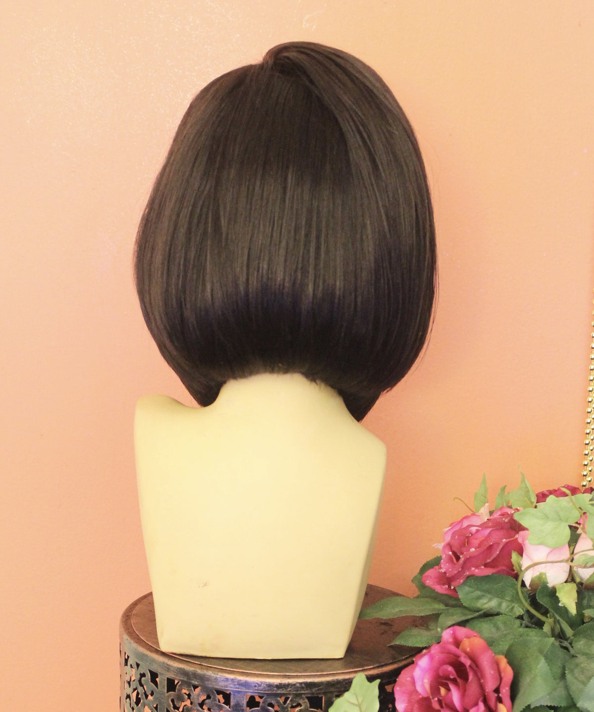 TreBella Wigs Smooth Straight Yaki Unit 14in bob - TreBella Wigs