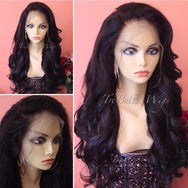 TreBella Wigs Loose Wavy 22in unit w/ lace frontal (13x6) - TreBella Wigs