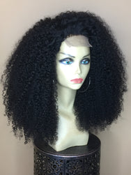 TreBella Wigs Kinky Curly 18in closure unit - TreBella Wigs