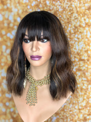 TreBella Wigs Indian wavy full unit - TreBella Wigs