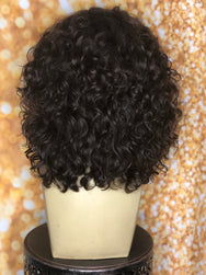 TreBella Wigs Indian Curly full unit - TreBella Wigs