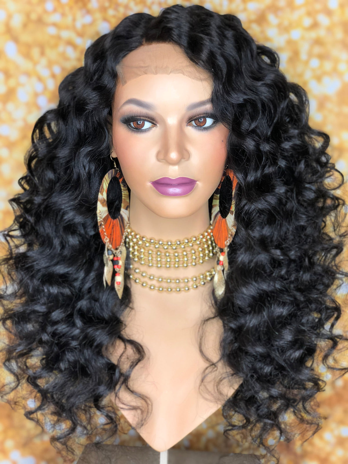 TreBella Wigs Indian wavy 20in unit w/lace closure - TreBella Wigs