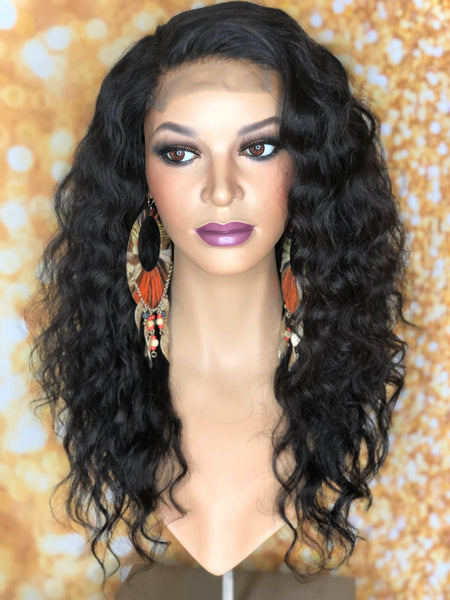 TreBella Wigs Wavy 16in unit w/ lace closure - TreBella Wigs