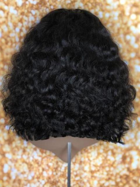 TreBella Wigs 16in indian wavy bob - TreBella Wigs