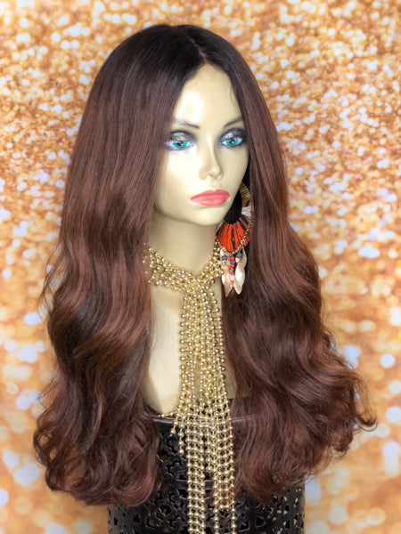 Gently Used TreBella Wigs Indian Wavy Unit 18in - TreBella Wigs