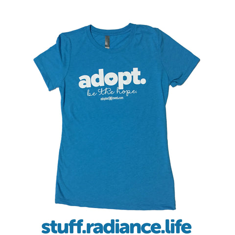"""Adopt. Be The Hope."" T-Shirt"