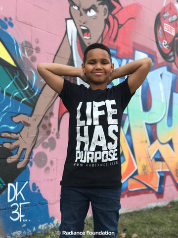 """LIFE HAS PURPOSE"" Unisex T-shirt"