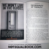 "BULK ORDERS OF ""NOT EQUAL: Civil Rights Gone Wrong"" book by Ryan Bomberger"