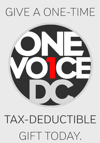 ONE TIME DONATION - OneVoiceDC