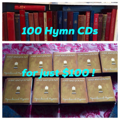 100 Hymn CDs for $100!!!