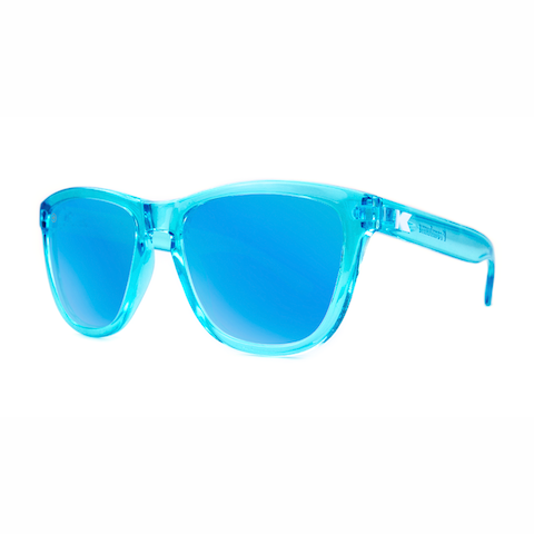 lenoor crown knockaround premiums sunglasses blue monochrome