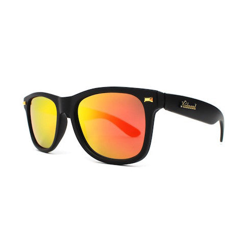 lenoor crown knockaround fort knocks sunglasses black sunset
