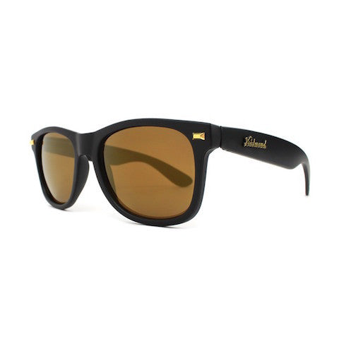 lenoor crown knockaround fort knocks sunglasses black gold