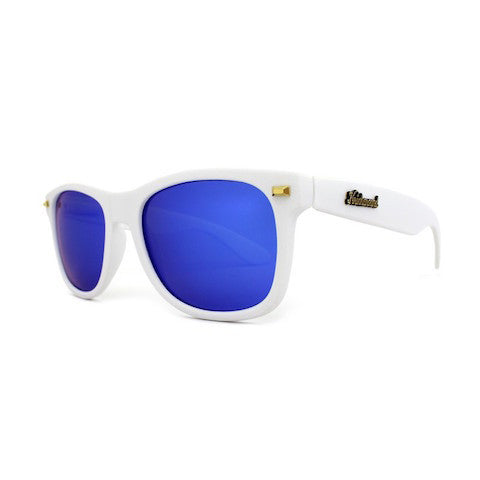 lenoor crown knockaround fort knocks sunglasses matte white moonshine
