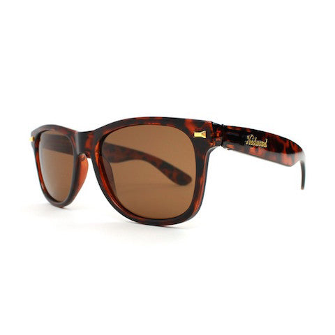 lenoor crown knockaround fort knocks sunglasses glossy tortoise amber