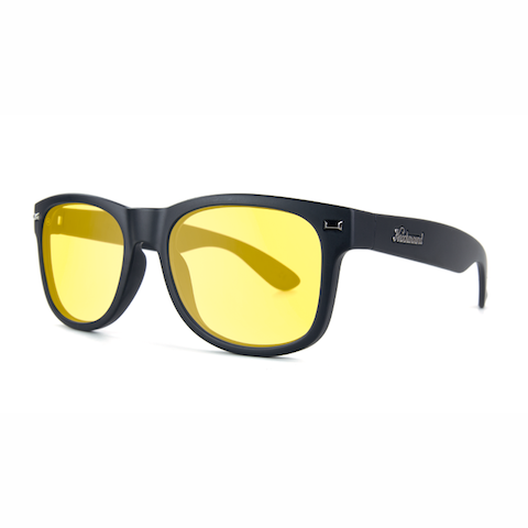 lenoor crown knockaround fort knocks sunglasses black blue light blocker