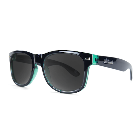 lenoor crown knockaround fort knocks sunglasses black sage smoke