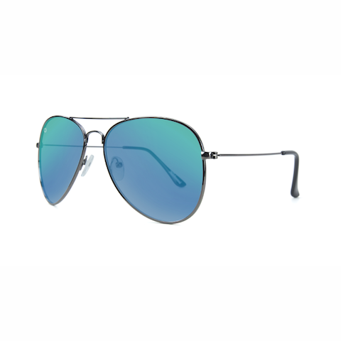 lenoor crown knockaround mile highs sunglasses gunmetal green moonshine