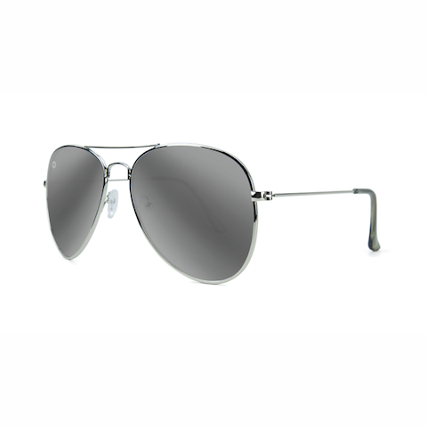 lenoor crown knockaround mile highs sunglasses silver silver