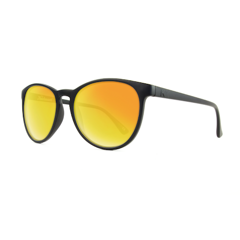 lenoor crown knockaround mai tais sunglasses matte black sunset