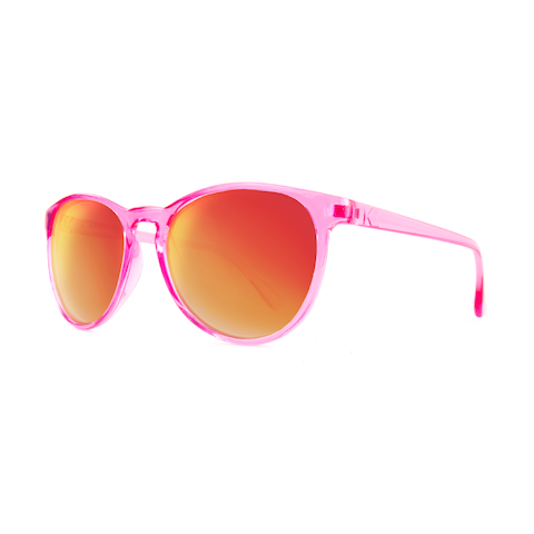 lenoor crown knockaround mai tais sunglasses candy pink red sunset
