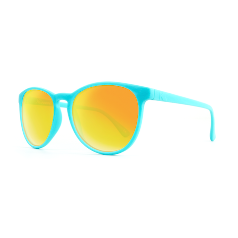 lenoor crown knockaround mai tais sunglasses turquoise sunset