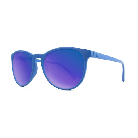 lenoor crown knockaround mai tais sunglasses denim blue moonshine